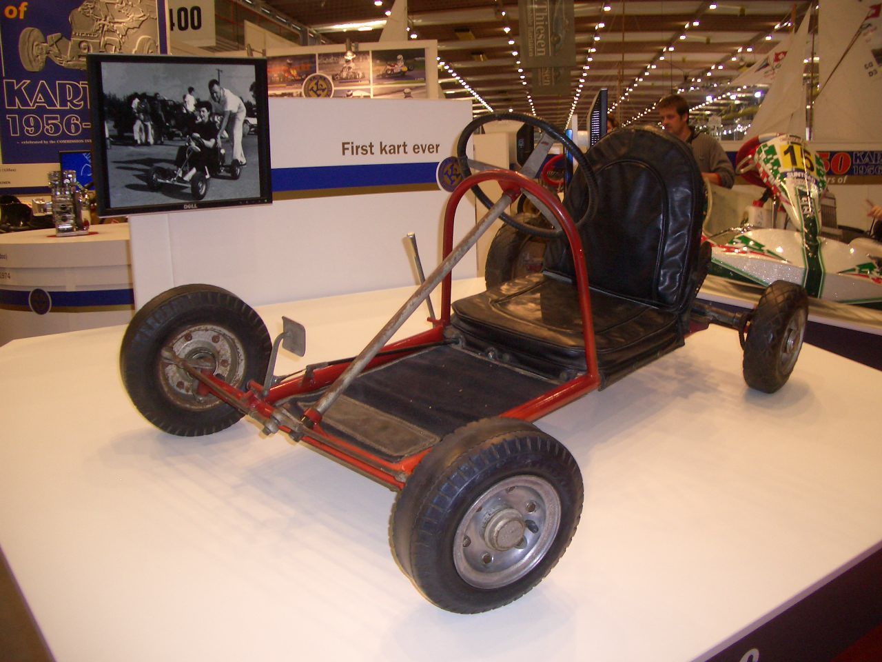 First kart ever; by Art Ingels